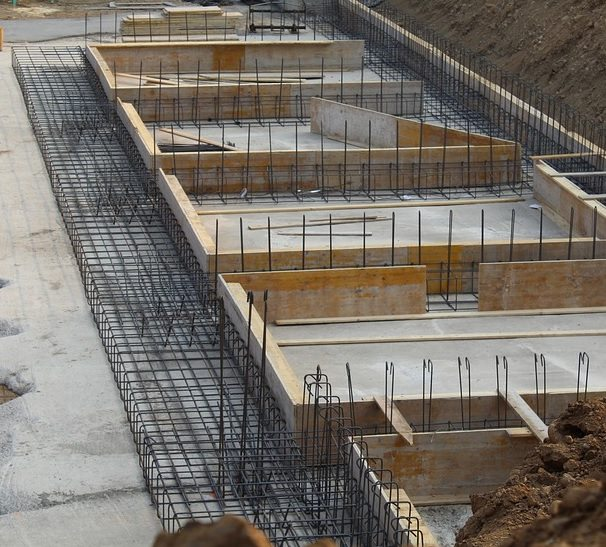 Types of foundations for residential and commercial for Concrete foundation types