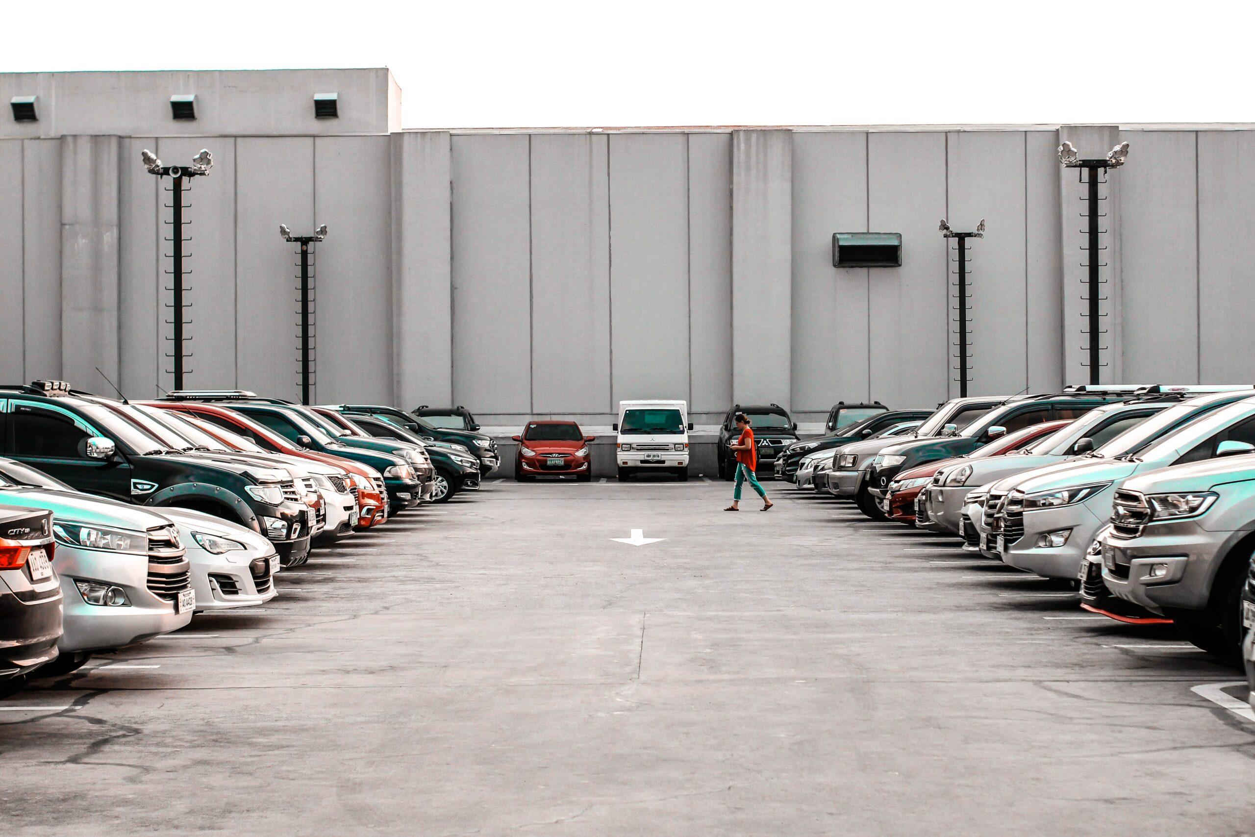 Eco-friendly parking lot from Houston concrete supplier Texas Concrete Ready Mix